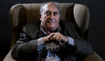 Denis Goldberg attends an event Farm in the outskirts of Johannesburg, South Africa, July 2013.
