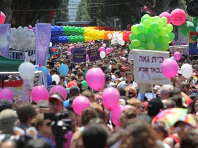Tel Aviv pride parade, June 15, 2019