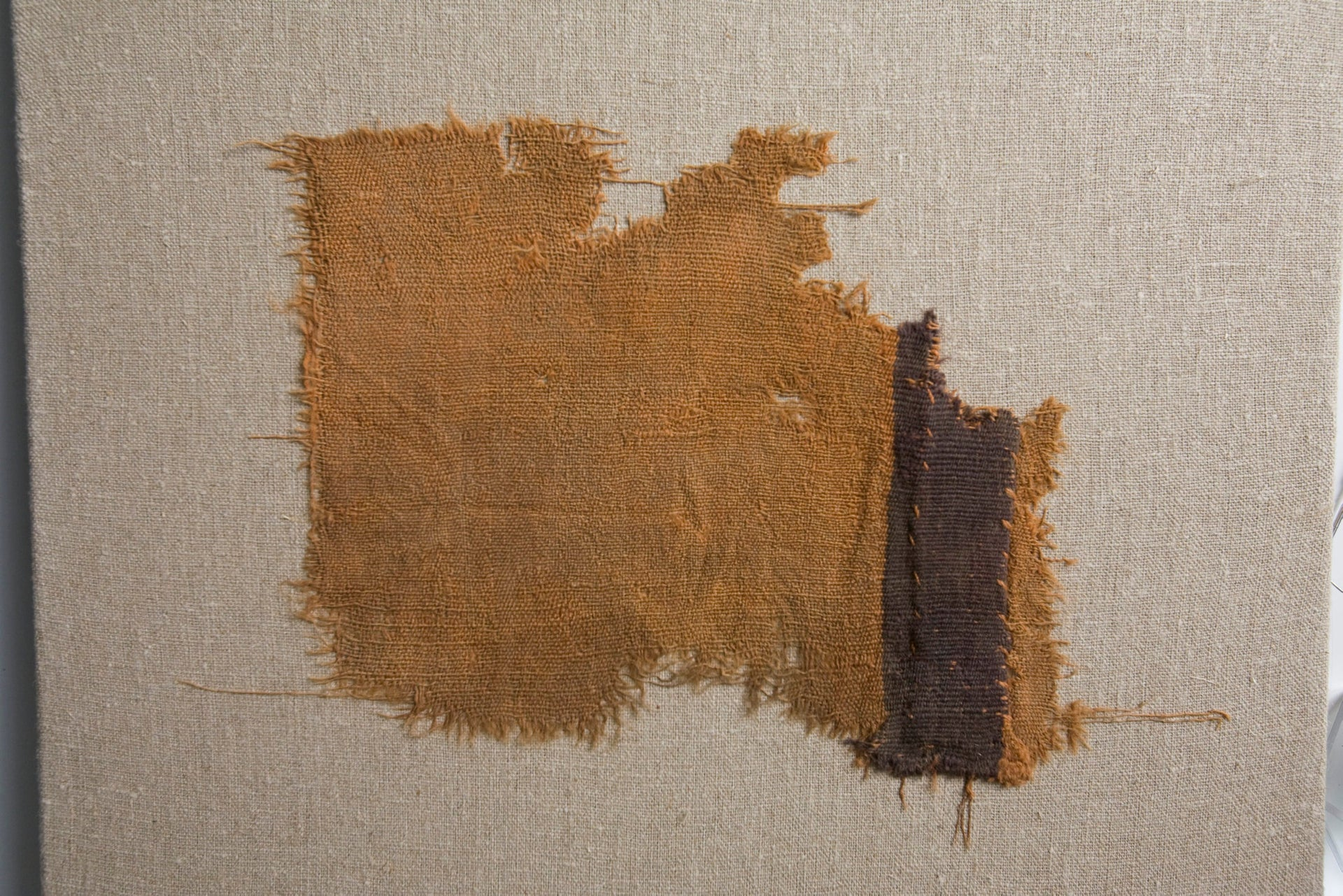 Woven textile found at Qumran caves, site of the Dead Sea Scrolls