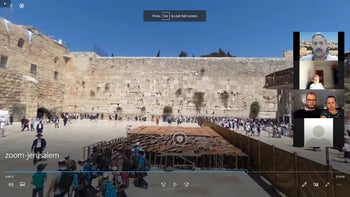 The Amazing Jerusalem virtual tour visiting the Western Wall in the Old City.