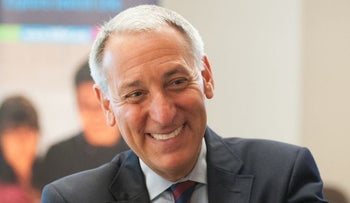 Eric Fingerhut, CEO and president of Jewish Federations of North America, announced layoffs and executive salary cuts in a message to board members and federation executives Wednesday.