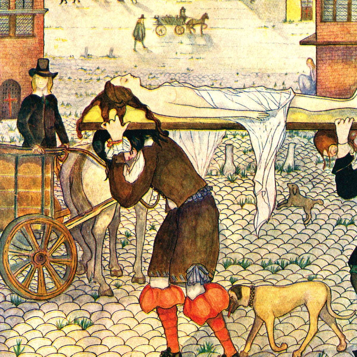 """""""The Great Plague of London,"""" by Kitty Shannon (1926)."""