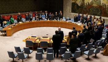 The United Nations Security Council, March 2020