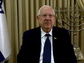 President Reuven Rivlin addresses Haaretz's Judaism, Israel and Diaspora conference on Wednesday, May 27 2020