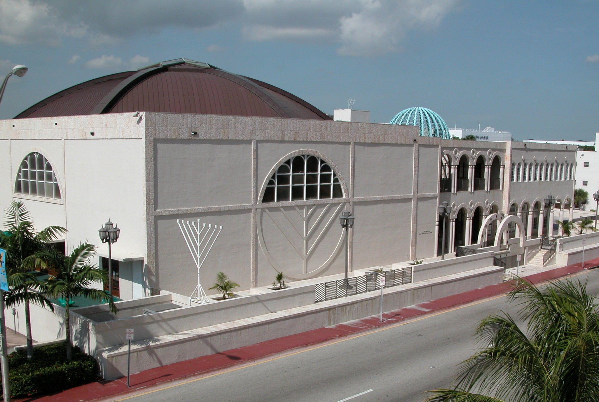 The Shul in Miami. After 10 weeks on hold, it reopened for Shavuot and Shabbat services on May 28-29.