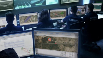 A control room for Israel's civilian water infrastructure.