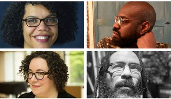 Top left, clockwise, April Baskin, Anthony Russell, Yitz Jordan and Tema Smith.