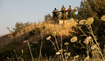 Israeli soldiers at the plot of land at the center of the case near the West Bank settlement of Beit El, June 2, 2020.