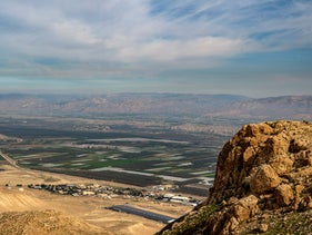 A view of the Jordan Valley.