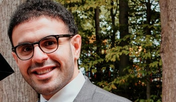 Mohamed Soltan at his home in Fairfax, Virginia, May 16, 2020.