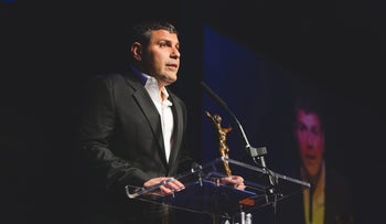 Israeli billionaire Teddy Sagi at the Variety PROPS Awards in London, June 20, 2015.
