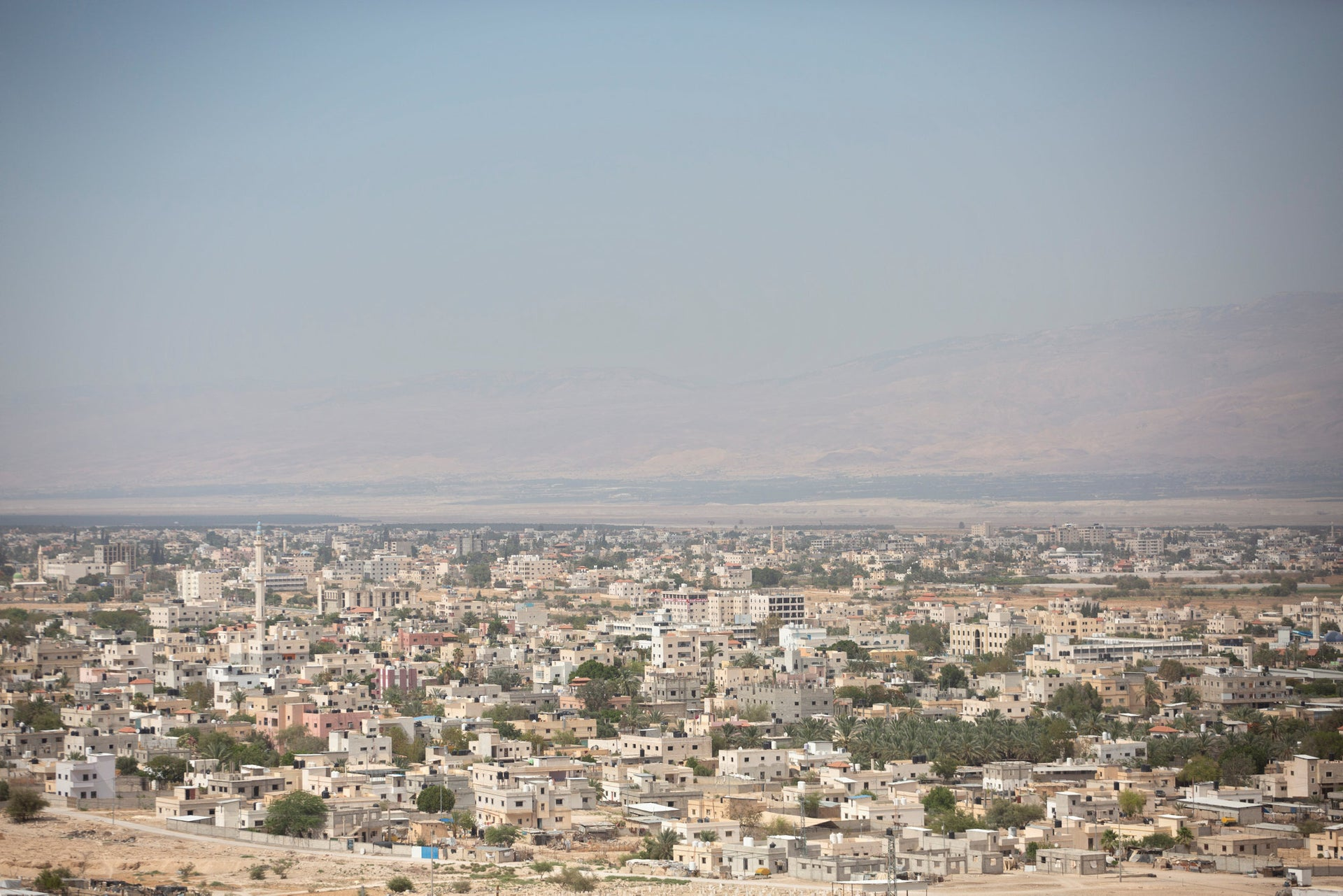 The city of Jericho, in the Jordan Valley, June 11, 2020.