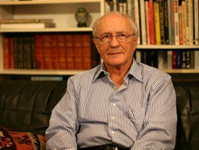 Political scientist and intellectual Prof. Zeev Sternhell, November 1, 2009