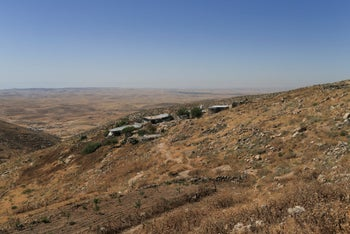 A view of Bir Al-Id in the South Hebron Hills, May 2020.