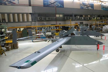 A drone assembly line at the offices of state-owned Israel Aerospace Industries (IAI), the country's biggest defense contractor, Israel, February 27, 2017.