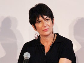Ghislaine Maxwell at a conference at Center 548 in New York City, July 2, 2020.