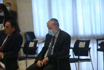 Attorney General Avichai Mendelblit at the Knesset, May 17, 2020.