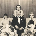 """Victor Sassoon and friends. During World War II, """"Elly Kadoorie told him, 'Victor, you have to stop being the playboy, you have to take the lead here, you have to help those refugees."""""""