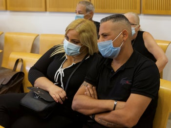 Ronen Cohen, one of the two men acquitted in the Be'er Sheva District Court, July 20, 2020