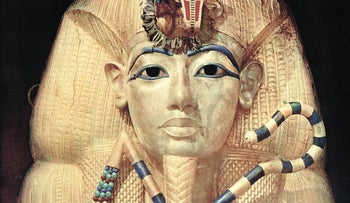 The ancient Egyptian King Tutankhamun