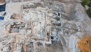 Remnants of mysterious monumental building found in Arnona, Jerusalem