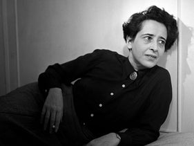 Hannah Arendt, 1944. A female intellectual in an almost totally male world. v