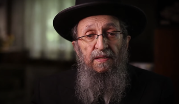 Rabbi Shmuel Kamenetsky speaking in a video message posted on The Shabbos Project, 2014.
