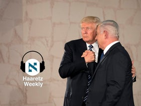 Donald Trump and Benjamin Netanyahu in Jerusalem in 2017.