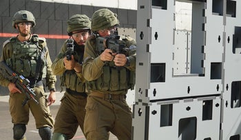 IDF soldiers training, July 16, 2020