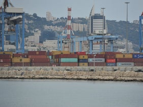 Haifa Port in October 2019.