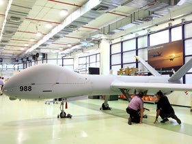 A drone made by Israel's Elbit Systems.