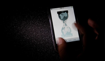 The logo of the Wikileaks website is pictured on a smartphone in this picture illustration taken in Tokyo November 29, 2010.