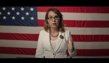 Gabby Giffords at the 2020 Democratic National Convention