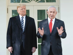 President Trump and Prime Minister Netanyahu at the White House.