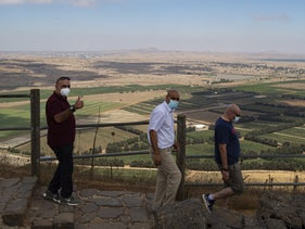 Tourism in the Golan Heights, 2020.