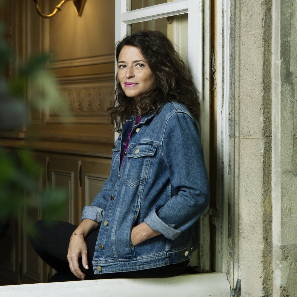 Author Karine Tuil. 'As a child and teen, I tried to hide my femininity.'