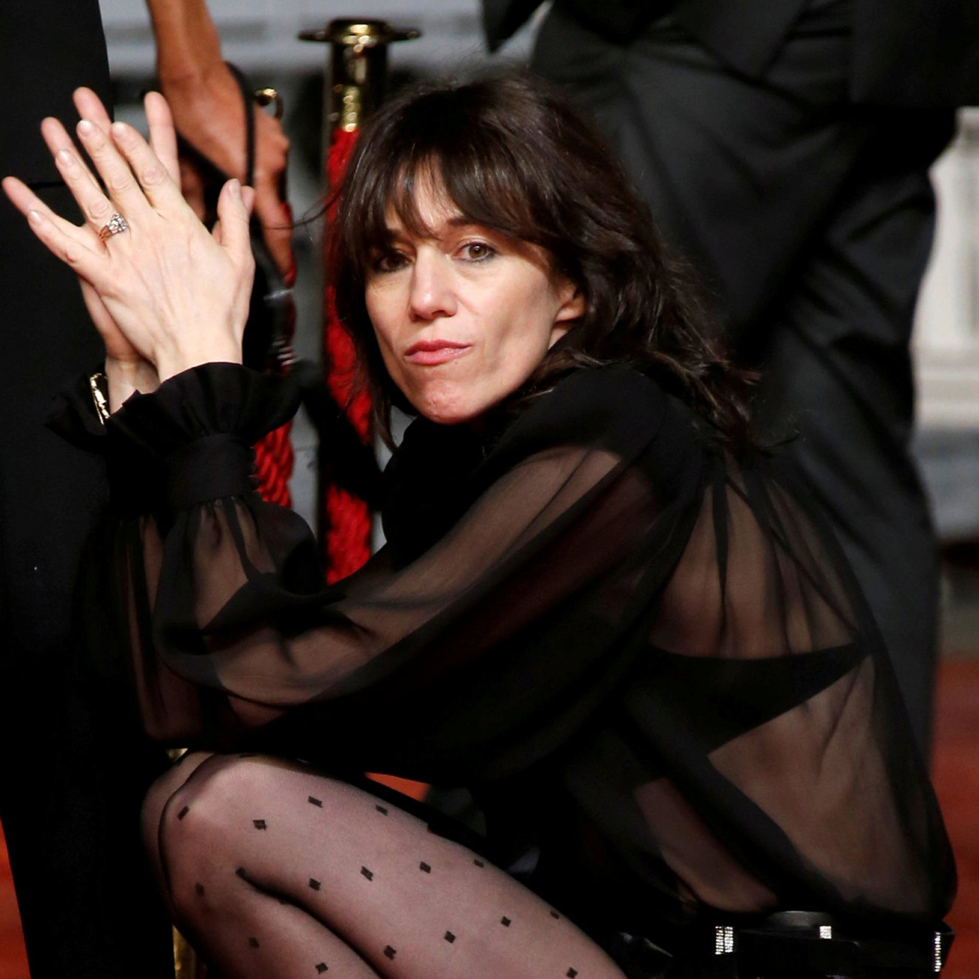 Charlotte Gainsbourg at Cannes in 2019.