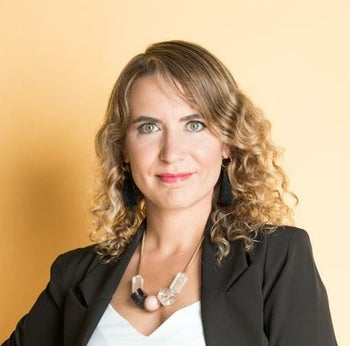 Efrat Itamar Sela, the CEO of The Leaders