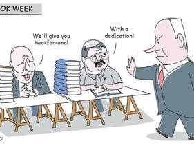 Haaretz Cartoon, August 31, 2020.