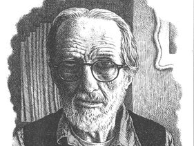 A self portrait of Robert Crumb.