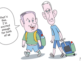 Haaretz cartoon.