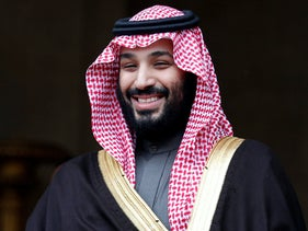 Saudi Arabia Crown Prince Mohammed bin Salman. April 9, 2018