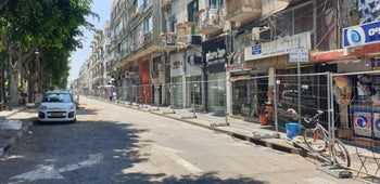 Jerusalem Blvd. in Jaffa