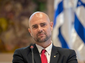 Public Security Minister Amir Ohana, in the Knesset, Jerusalem, May 24, 2020.
