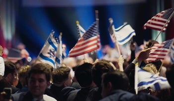"""The Christians United For Israel Summit in Washington, from """"'Til Kingdom Come."""""""