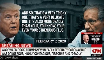 'Deadly stuff': Trump's own words bring focus back to virus