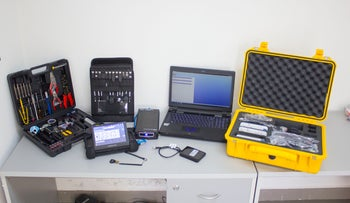 The 'UFED Touch Ultimate' system, as seen on Venezuela's CICPC website
