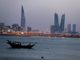General view of Bahrain's financial district in Manama, Bahrain, June 20, 2019.