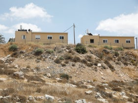 The student village of the Kedma organization in Pnei Kedem, September 8, 2020.