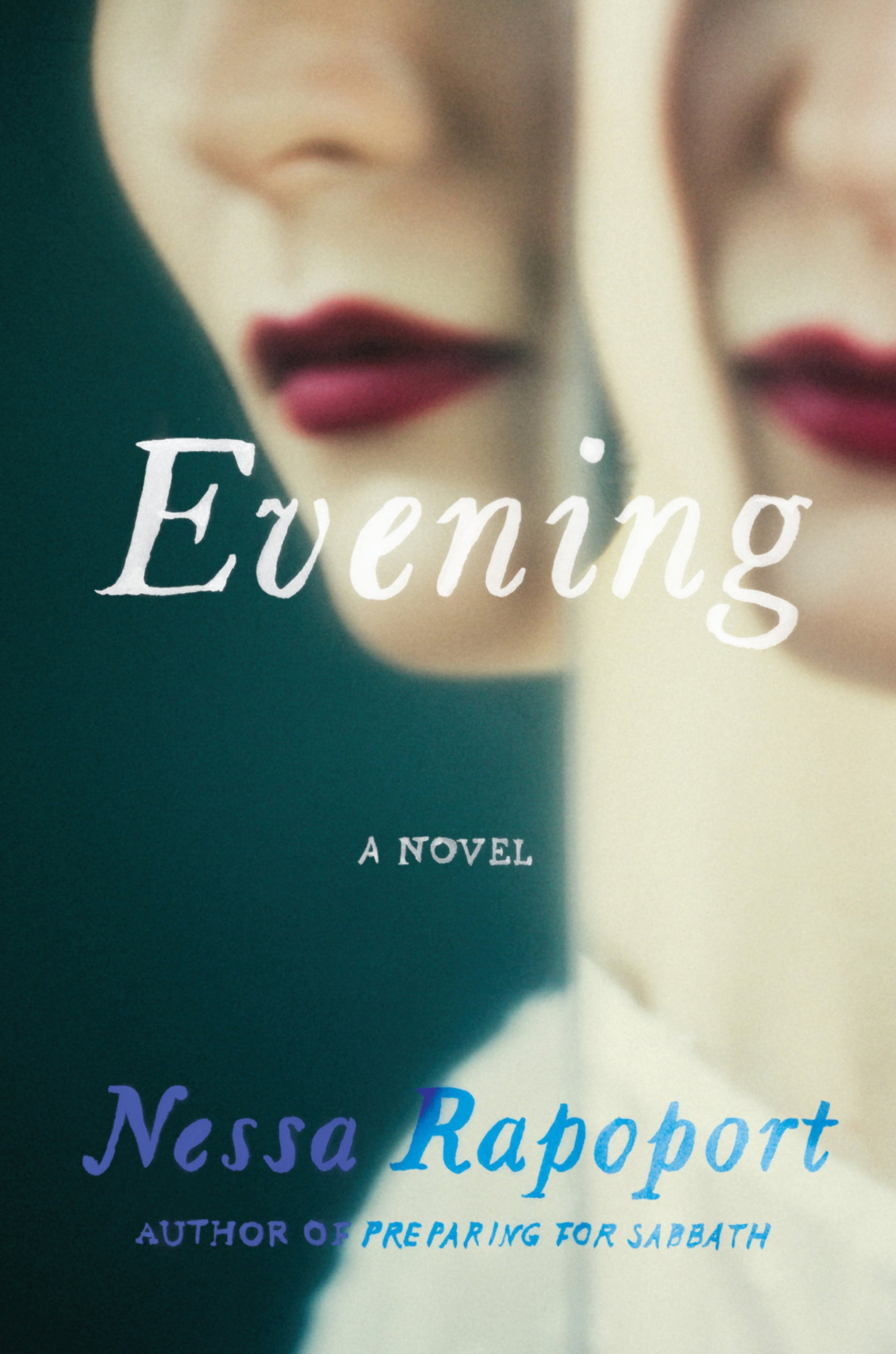 "The cover of ""Evening"" by Nessa Rapoport."